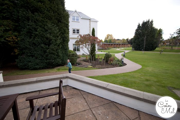 Kingsmills Hotel in Inverness - a Stunning 4 Star Hotel in the Scottish Highlands - Plenty of space to play outside from our patio