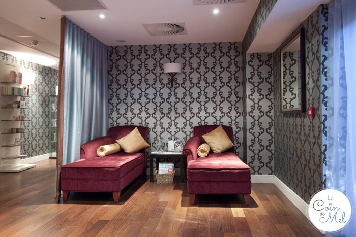 Kingsmills Hotel in Inverness - a Stunning 4 Star Hotel in the Scottish Highlands - Spa Waitng Room