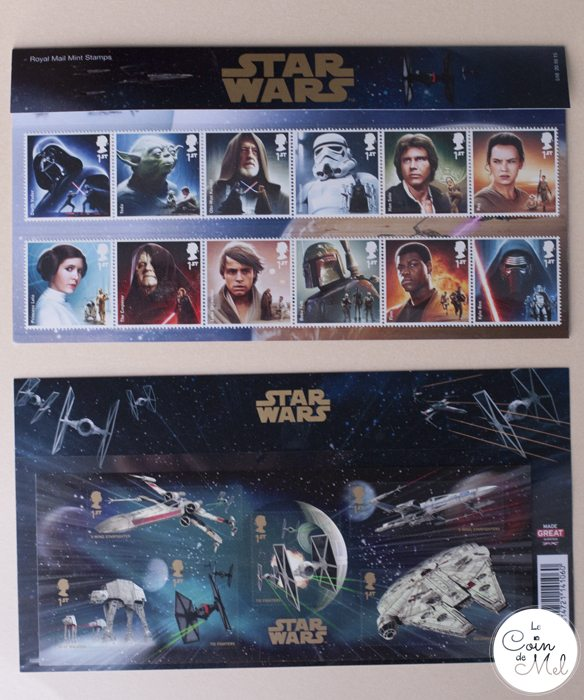 The Perfect DIY Present for a Star Wars Fan - Royal Mail Stamps