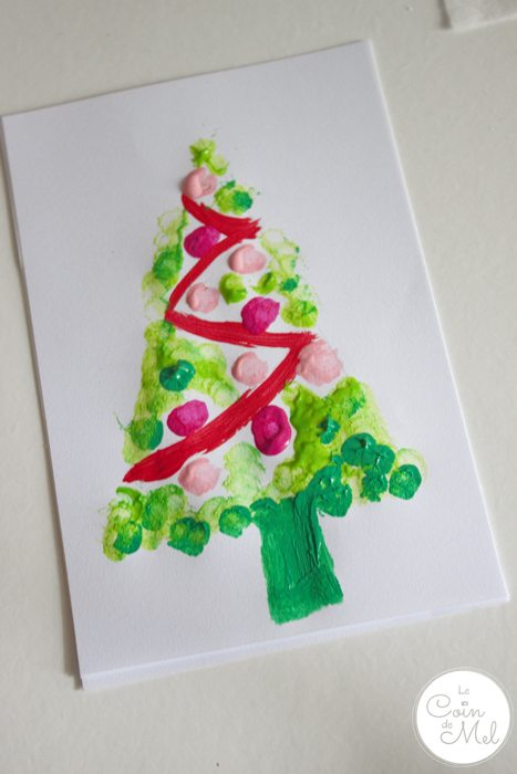 10 Minute Crafts – Easy Christmas Cards for Children to Make 4