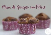 Feature my Food Friday: Introducing Susan and her Plum & Ginger Muffins