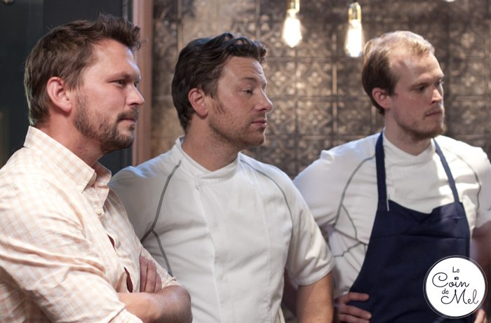 Jamie & Jimmy's Friday Night Feast, Series 3 Episode 2 – For the Love of Langoustines! Jimmy, Jamie, Robin