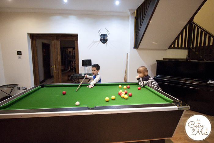 Perfect Manors Achnagairn - Stag Lodge - Pool Table