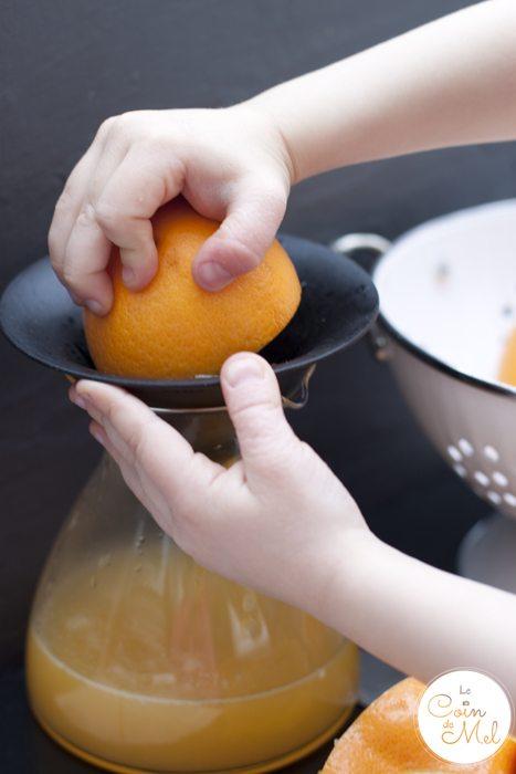 Breakfast Heaven - Beanie Making Orange Juice