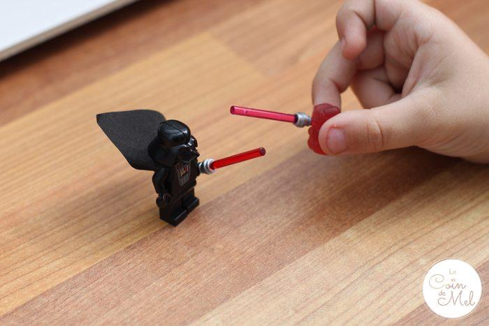 Star Wars, Lego & Sweets - Crevette vs Darth Vader