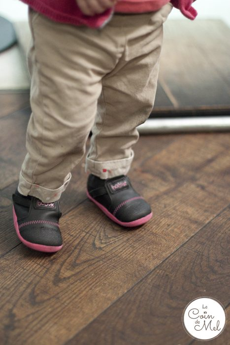 When Should My Baby Start Walking - My Baby Wearing her Bobux Shoes