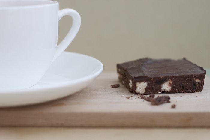Belgian Dark Chocolate Tiffin - Lazy Day Foods