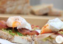 The Ultimate Bacon, Avocado & Poached Egg Sandwiches