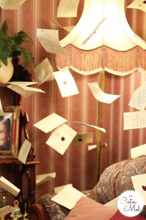A Feast at the Harry Potter Studios - Letters in Privet Drive