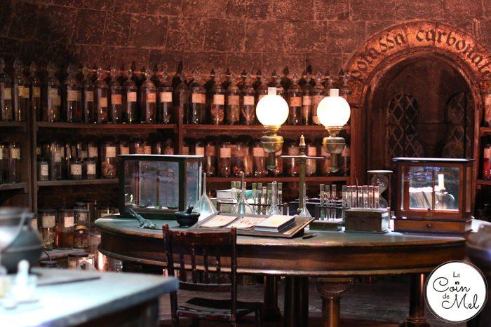 A Feast at the Harry Potter Studios - Potions Classroom