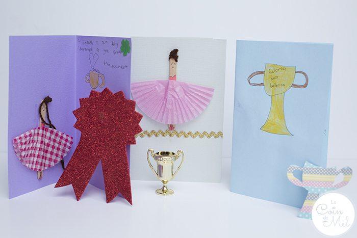10 Minute Crafts- Ballerina Cards-kids
