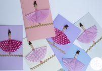 10 Minute Crafts: Ballerina Cards