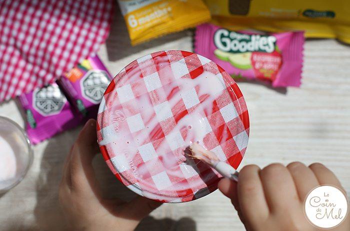 No Junk Present - Healthy, Yummy Jazzy Jars - White Glue