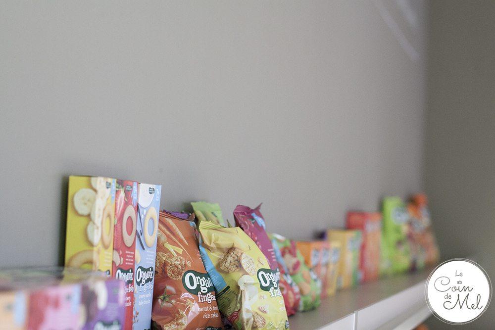 Organix snacks