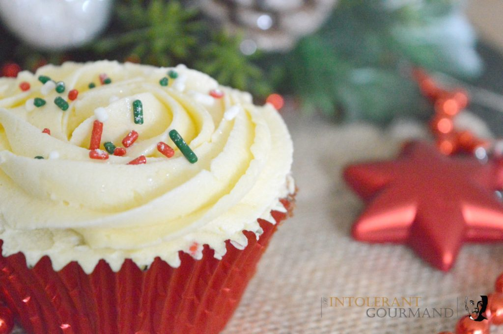 Here's Nat's mince pie cupcakes - a treat that everyone can enjoy (Part of my 50+ Allergy-friendly recipes)