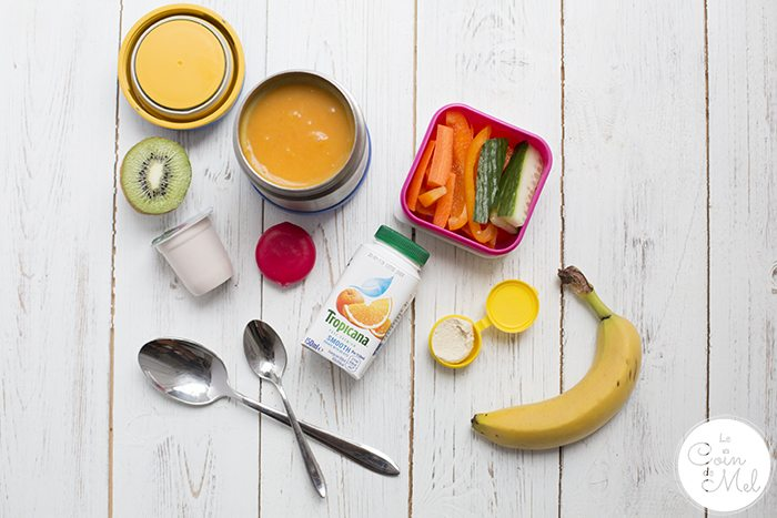 Lunchbox Ideas to Help You Eat More Fruit & Veg - leftovers for lunch