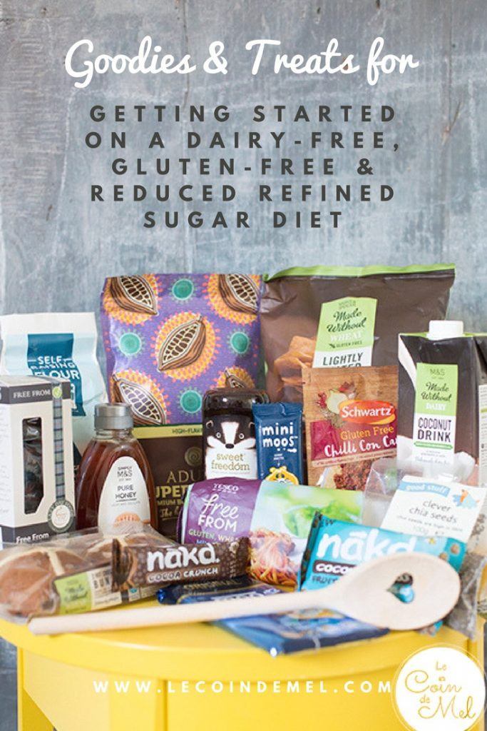 Are you on a Gluten-free, Dairy-free & Reduced Refined Sugar Diet? Check this list of products we swear by and love.
