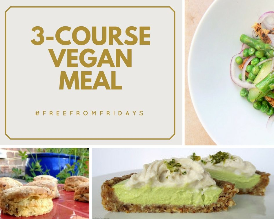 3-Course Vegan Meal & #FreeFromFridays