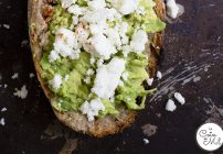 Avocado and Feta on Toast with a Kick