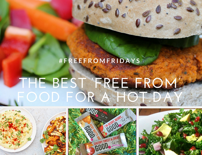 The Best 'Free From' Food for a Hot Day & #FreeFromFridays