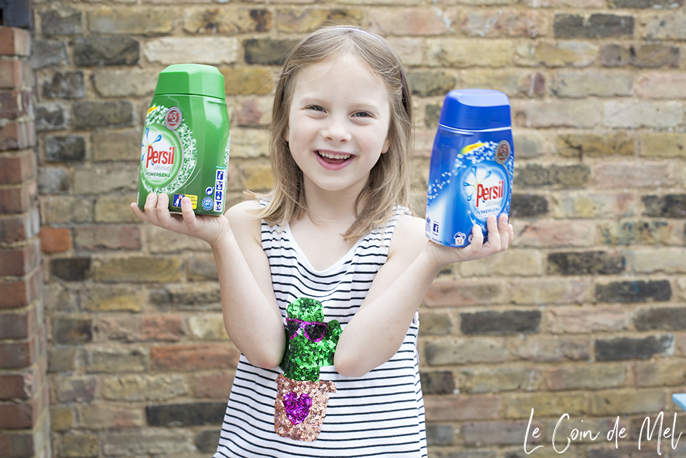 10 Chores Children Can Help with & Persil Powergems Review