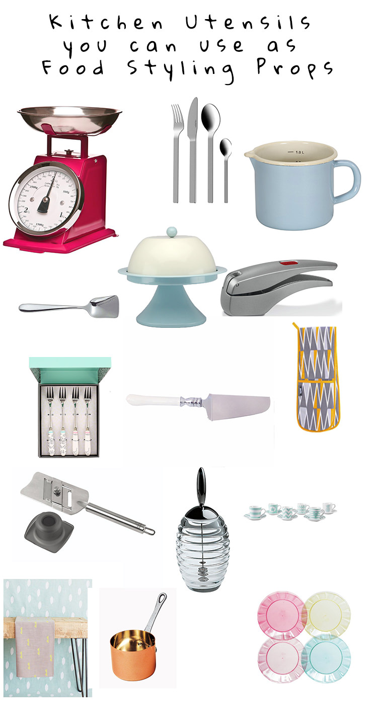 When you think 'Food Styling Props,' don't start looking for new things to buy. How about using things you already have in your kitchen?
