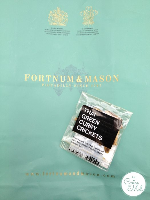 Fortnum & Mason Thai Green Curry Crickets