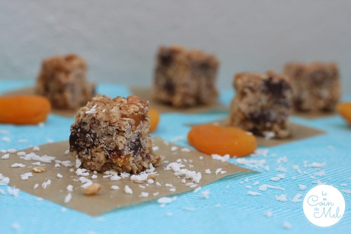 Free From Apricot and Coconut Oat Cubes Recipe
