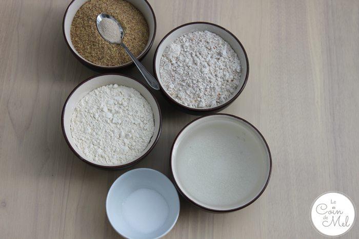 Healthy Loaf - Ingredients