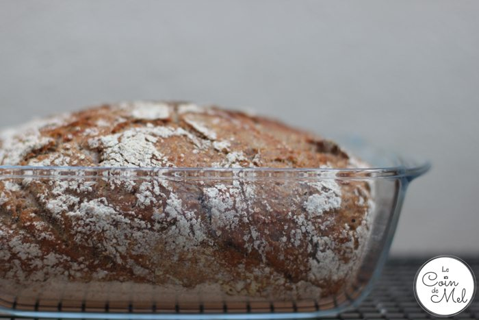 Healthy Loaf - in Pyrex Dish
