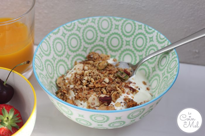 a Healthy Breakfast with Granola