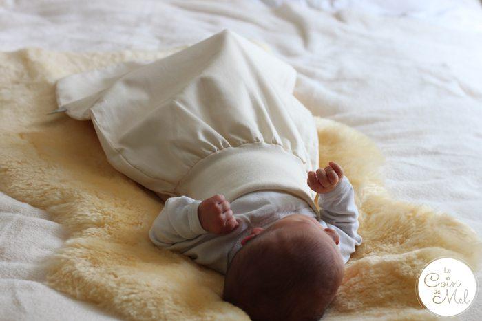 The Little Green Sheep Newborn Pouch
