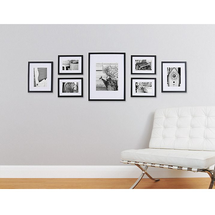 Gallery Perfect Frame Set in Black - John Lewis