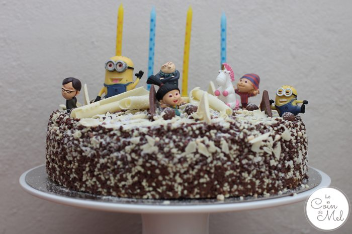 A Despicable Party - The Cake - Le Coin de Mel
