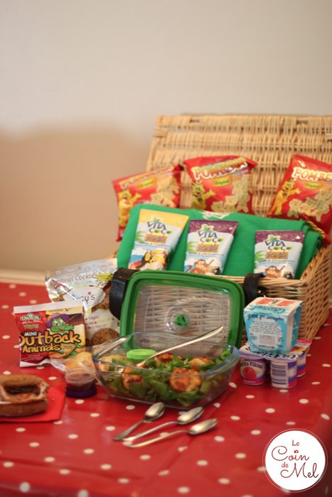 Autumn Picnic - Picnic Basket
