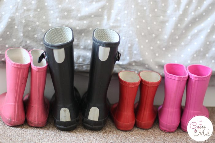 Give It Some Welly - Wellies Ready by the Bed