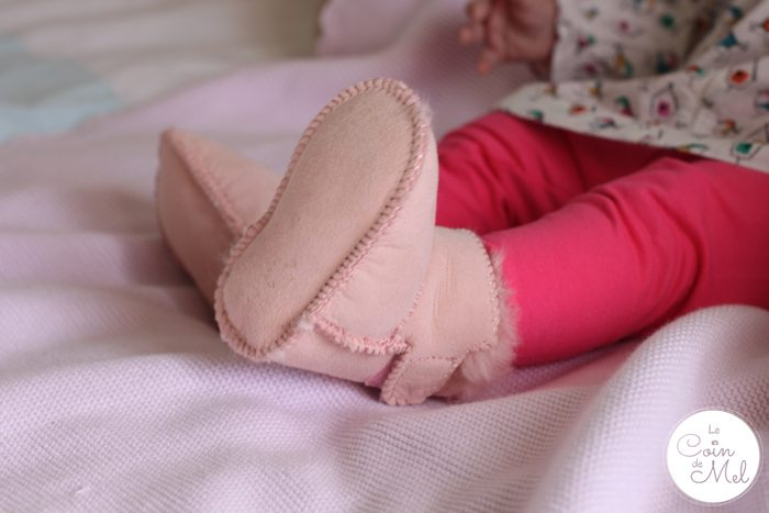 My 1st Years - Sheepskin Baby Shoes Wriggly