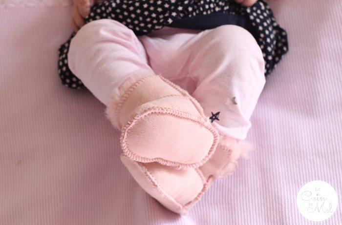 My 1st Years - Sheepskin Baby Shoes on Wriggly