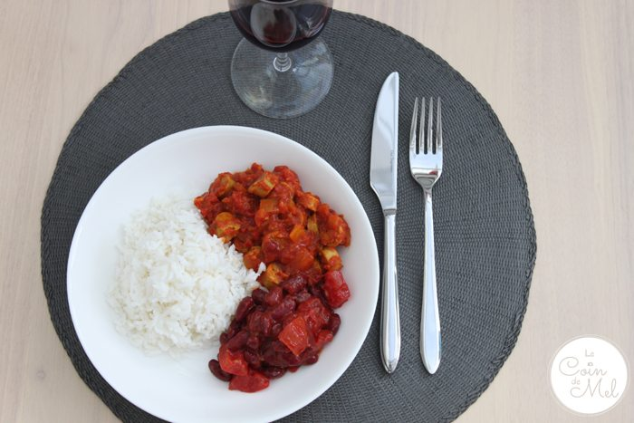 Rougail Saucisse & Red Wine