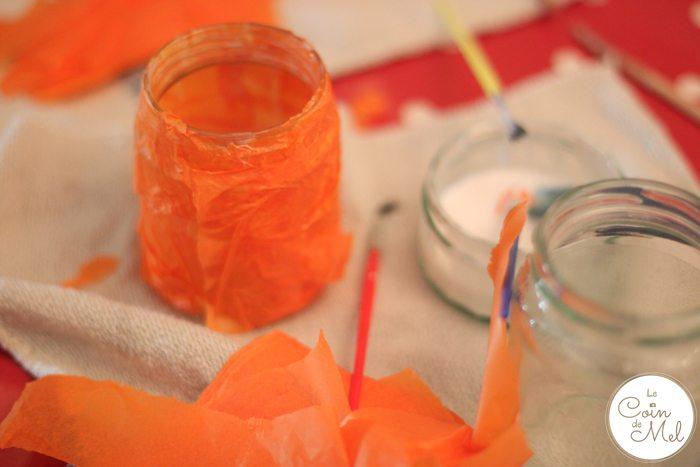 Tissue Paper Lanterns
