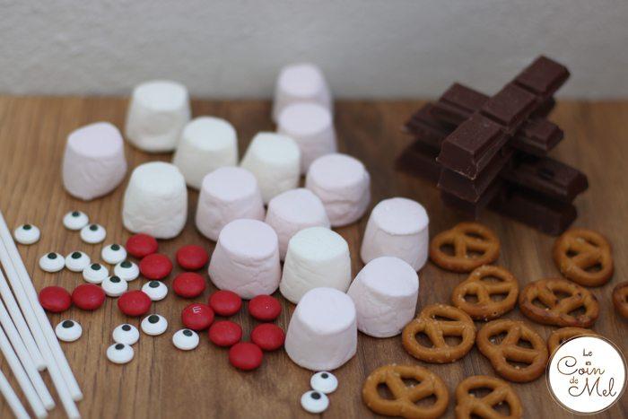 Marshmallow Reindeer - Ingredients