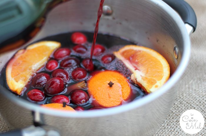 An allergy-friendly mulled wine recipe on Le Coin de Mel