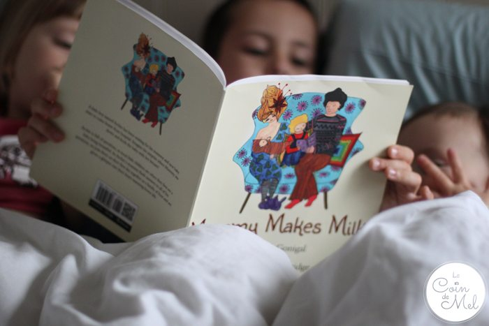 Mummy Makes Milk - Big Brother Reading to his Sisters