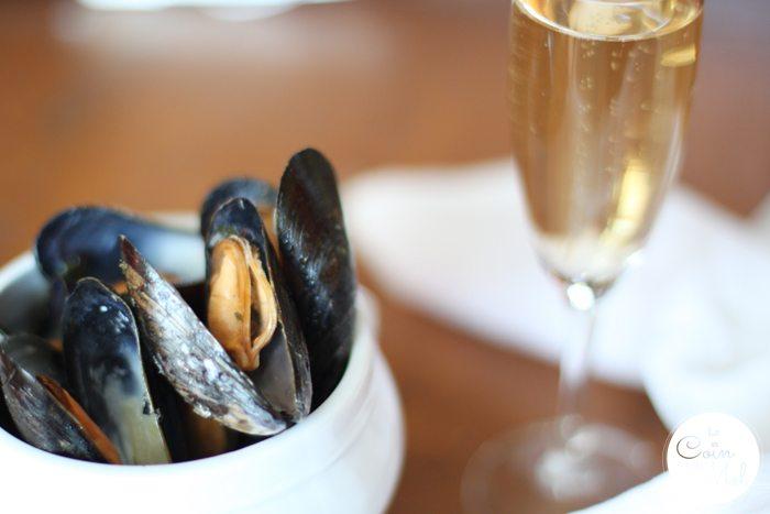 Mussels in champagne sauce - Santé