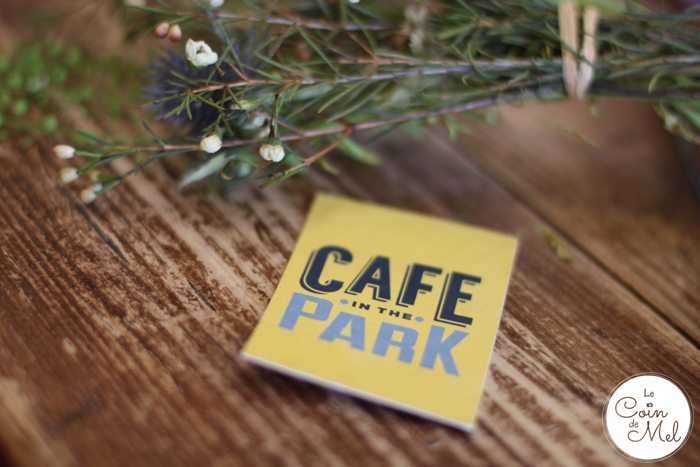 The Café in the Park - Rickmansworth Aquadrome - Gorgeous Branding