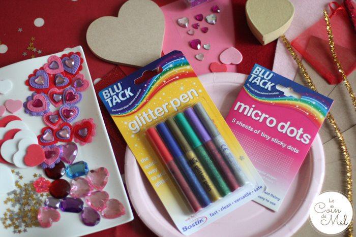 Valentine's Day - 10 Minute Crafts - Materials