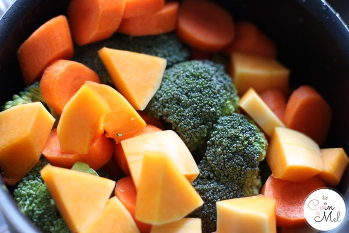 Butternut Squash, Carrots & Broccoli
