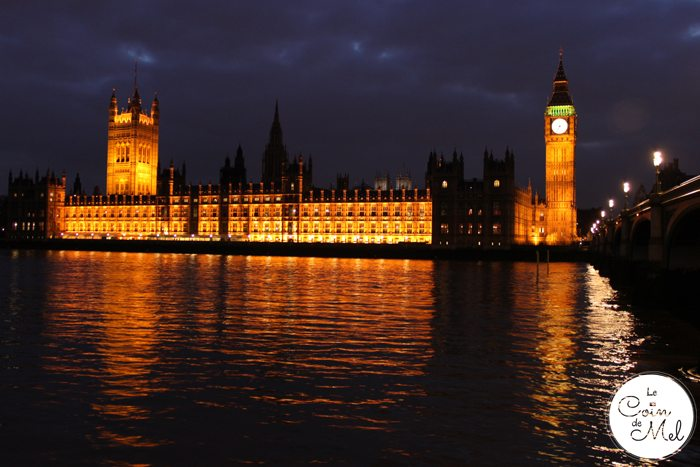 London - The Houses of Parliament at Night