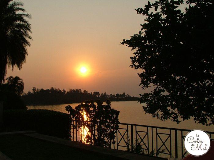 Lake Kivu, Rwanda, Sunset