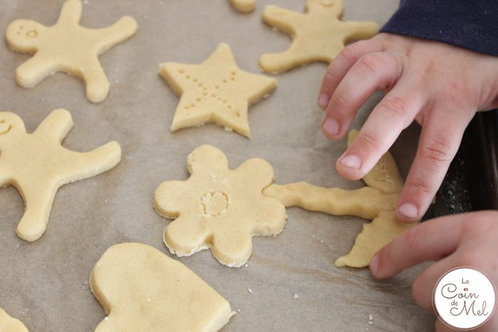 Baking with Kids - Quick & Easy Ginger & Honey Biscuits - Biscuit Sculptures